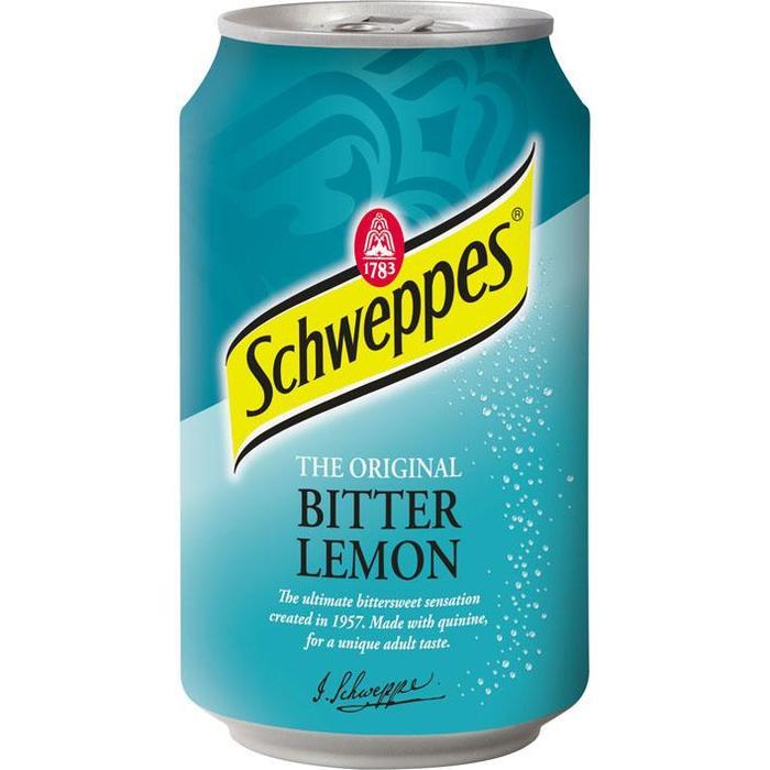 Schweppes Bitter Lemon (rol, 33 × 33cl)