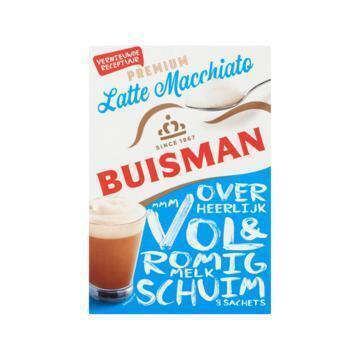 Buisman Oploskoffie latte macchiato (144g)