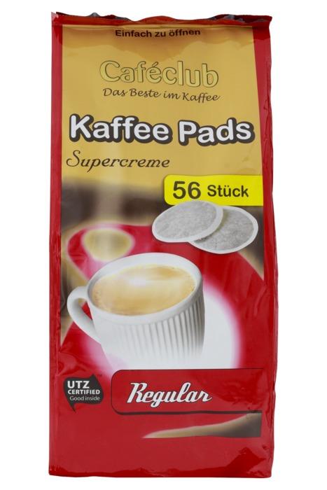 Cafeclub Supercreme Vorteilsack regular koffiepads 56 st (56 × 389g)