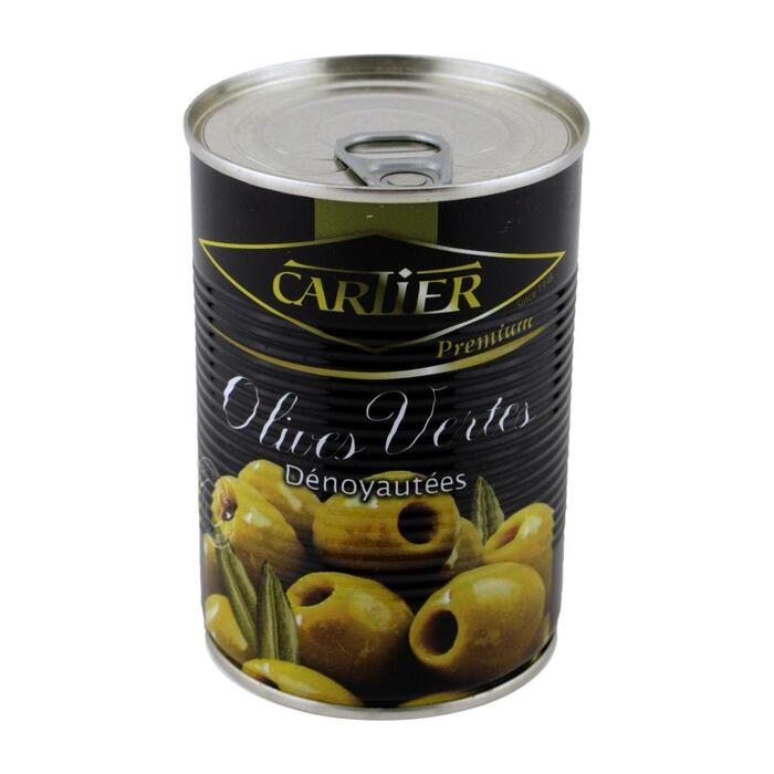 Cartier Groene olijven zonder pit (400g)