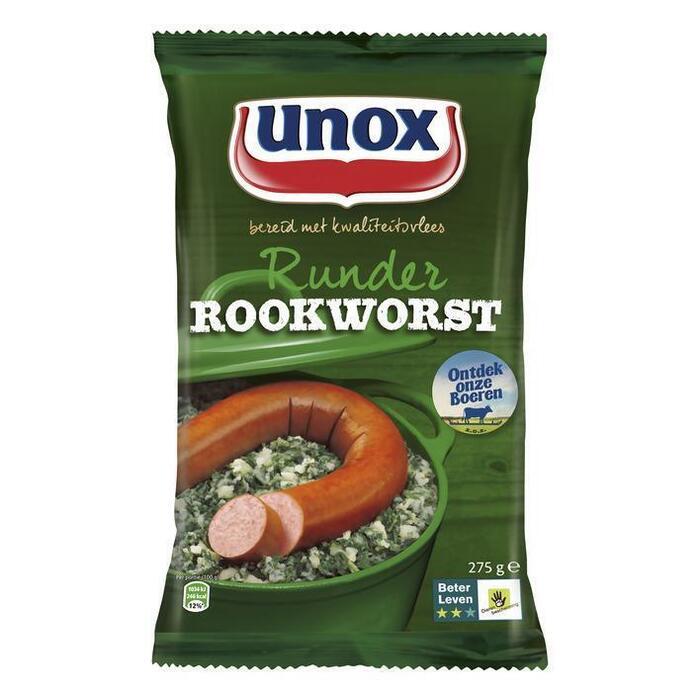 Unox Runder rookworst (275g)