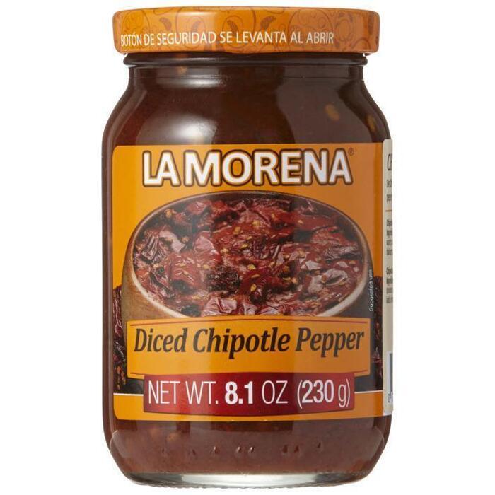 La Morena Chipotle peper in adobo saus (230g)