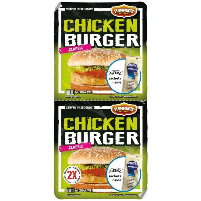 Chickenburger duo (2 × 239g)