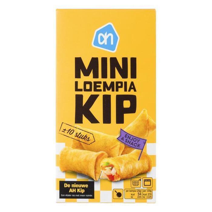 Mini loempia kip