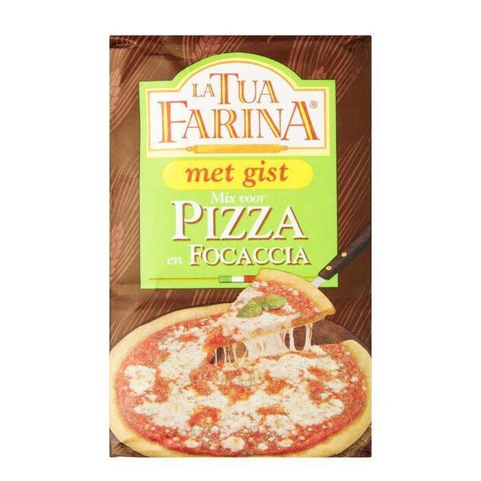 La Tua Farina Mix voor pizza en focaccia (500g)