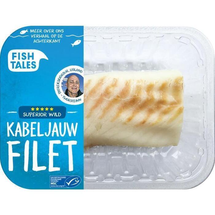 Fish Tales Kabeljauw haas vers Ijsland (220g)