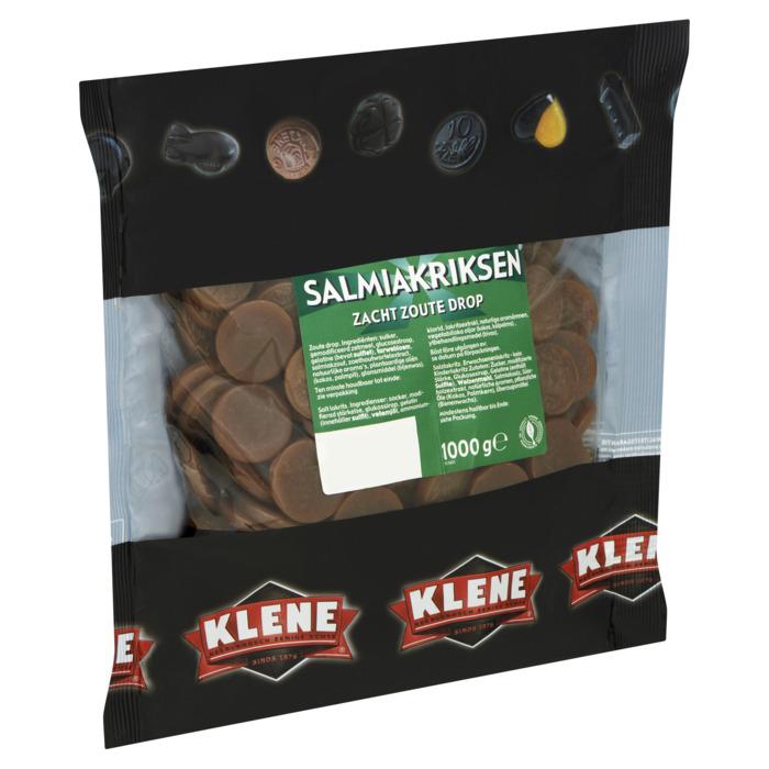 KLENE Salmiakriksen  Drop 1000 GR Zak (1kg)