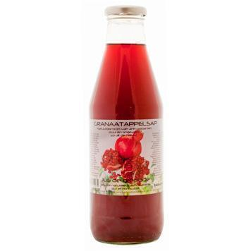 granaatappelsap (glas, 0.75L)