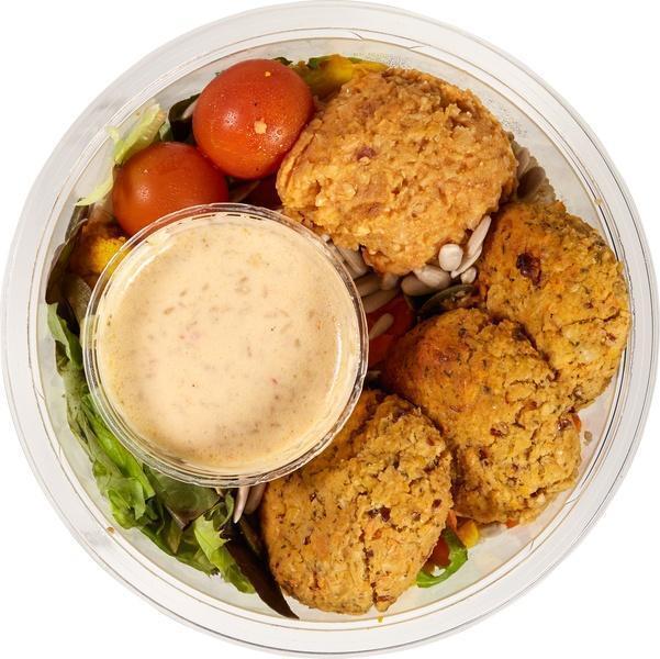 Vegan salade met falafel (323g)