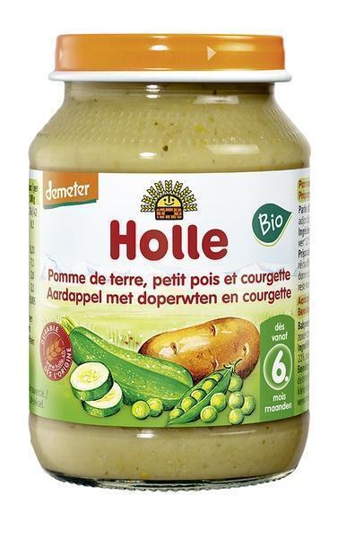 Aardappel doperwt courgette v.a. 6 mnd (220g)
