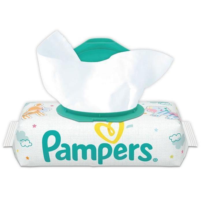Pampers Sensitive Babydoekjes Single Verpakking 56 Doekjes