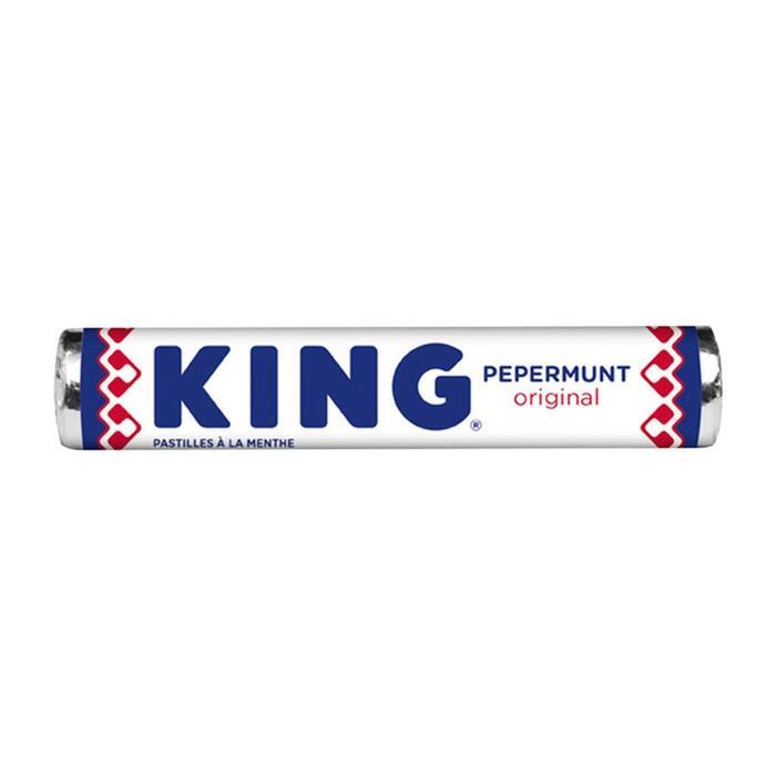 King Pepermunt original (stuk, 44g)