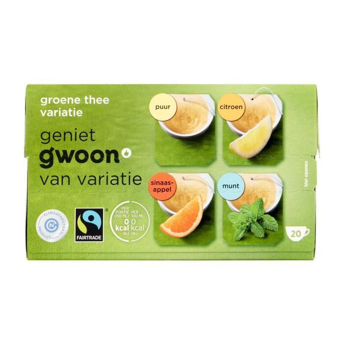 g'woon Groene theemix (40g)