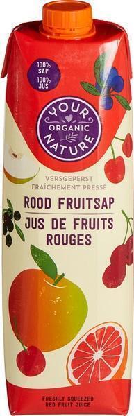 Rood fruitsap (1L)