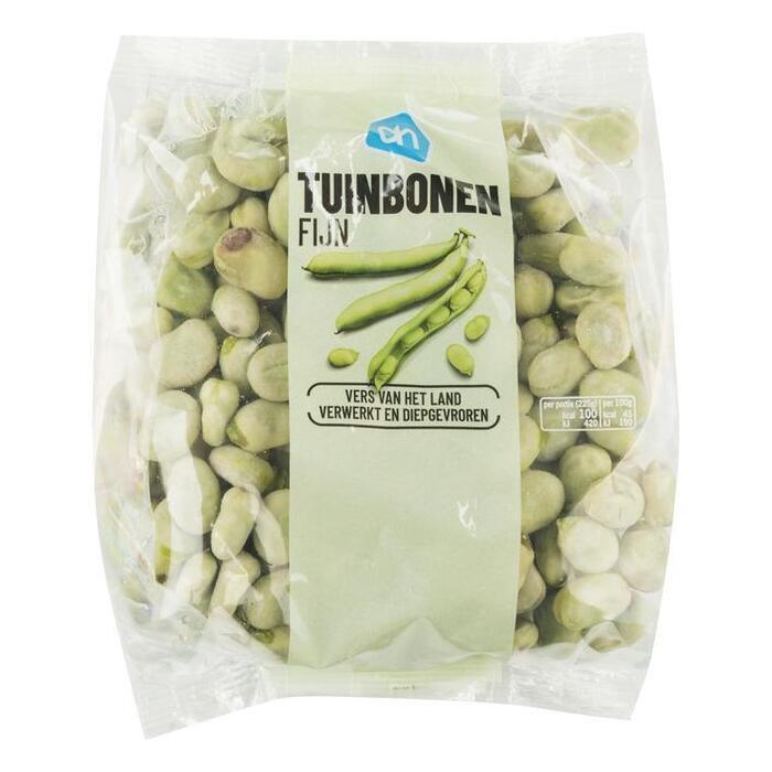 Zachte Tuinbonen fijn (doos, 450g)