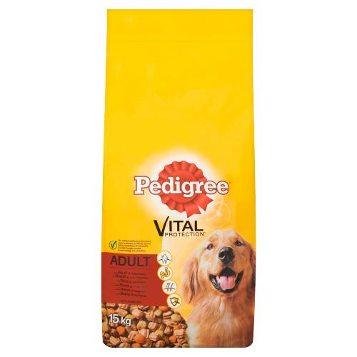 Pedigree Vital Protection Adult met Rund & Groenten 15 kg (15kg)