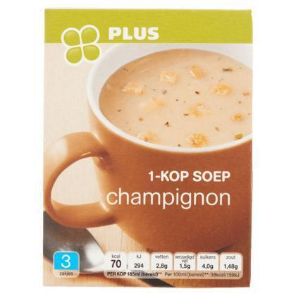1-kop soep champignon (doos, 33g)