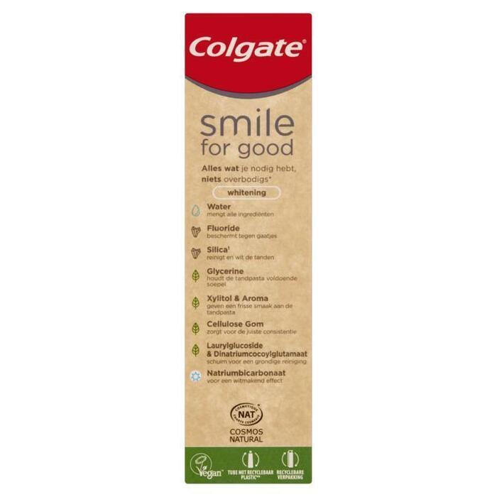 Colgate Smile for Good Whitening Tandpasta 75 ml (75ml)