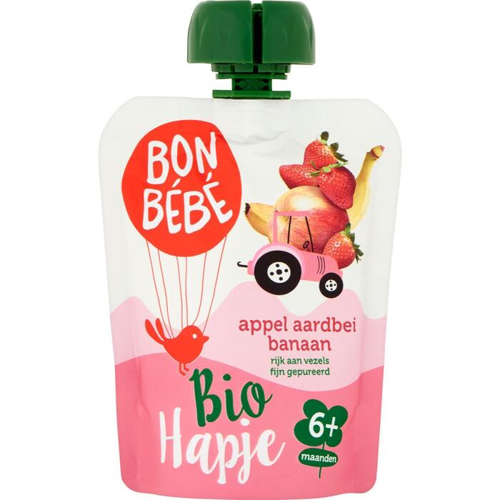 Bonbébé Pouch appel-aardbei (90g)