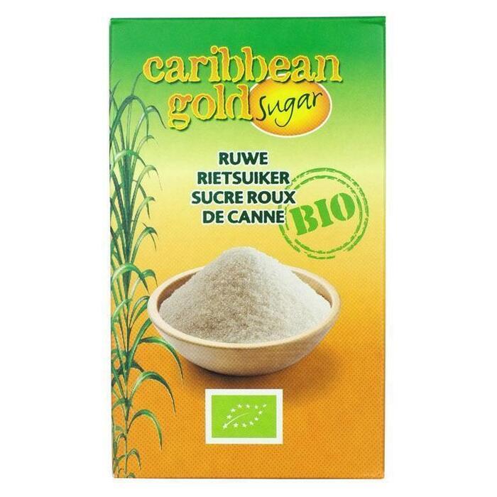 Rietsuiker bio Caribbean gold (500g)