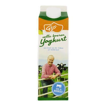 Volle yoghurt (pak, 1L)