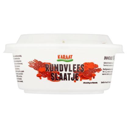 Karaat Rundvlees Slaatje 150g (150g)