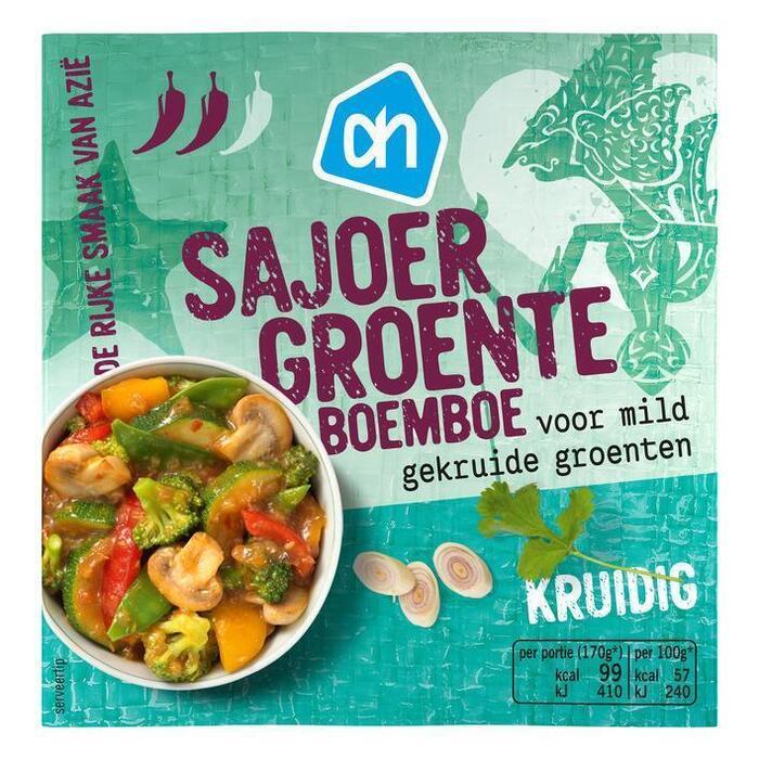 Mildpittige Sajoer Groente, boemboe (bak, 100g)