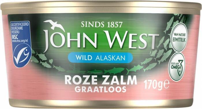 Wilde Roze Zalm, MSC (blik, 170g)