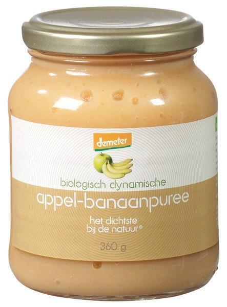 Appel-banaanpuree (pot, 360g)
