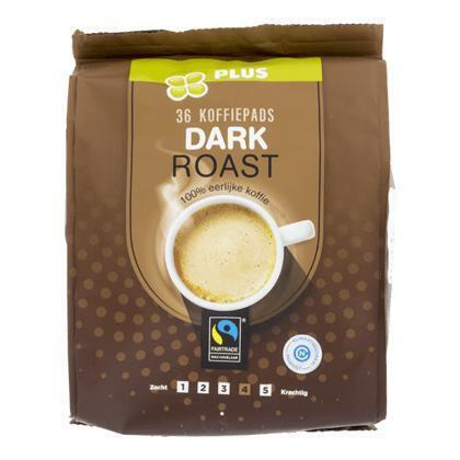Koffiepads dark roast