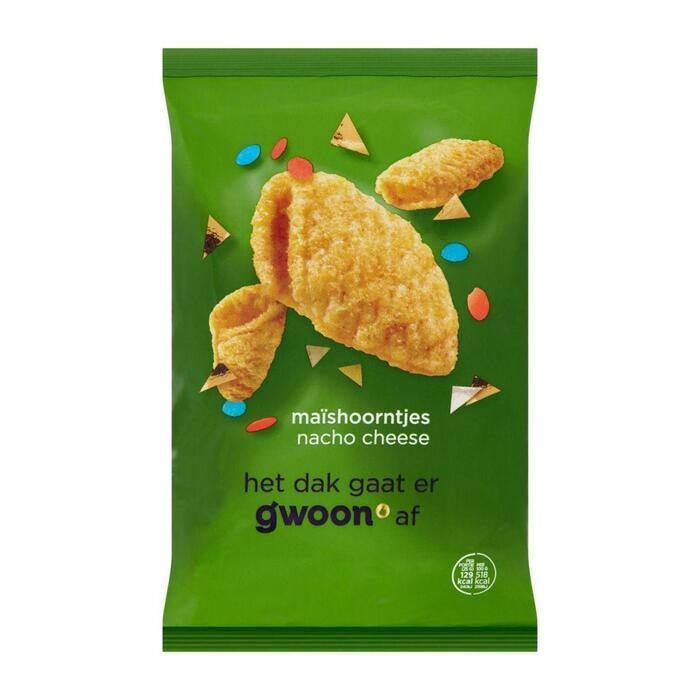 Maishoorntjes nacho cheese (125g)