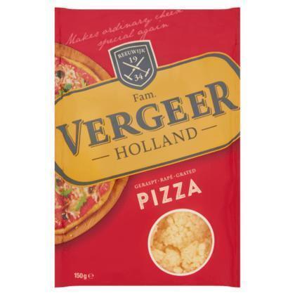 Kaas geraspt pizza (Stuk, 150g)