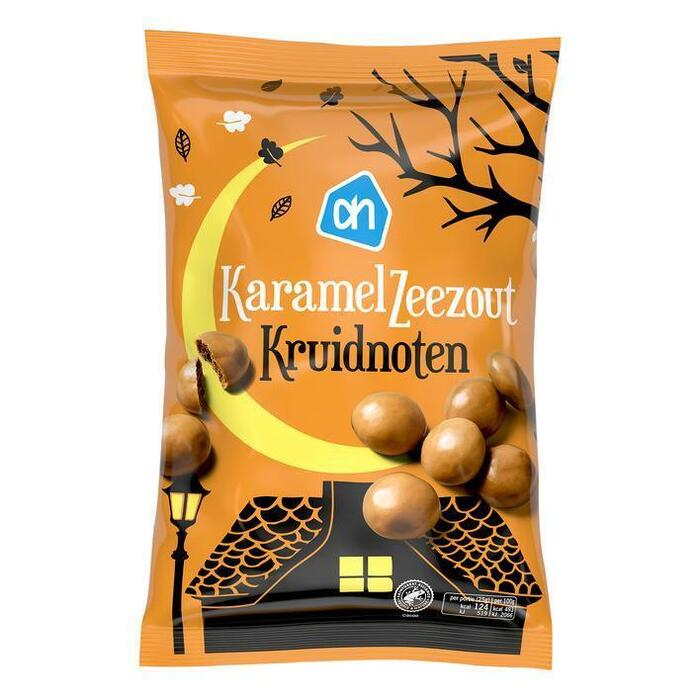 AH karamel zeezout kruidnoten (250g)