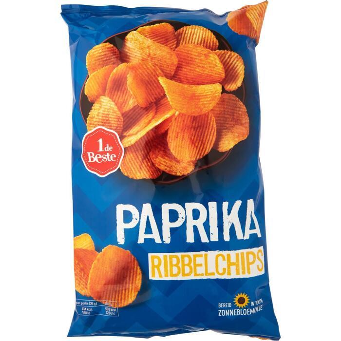 Ribbelchips paprika (215g)