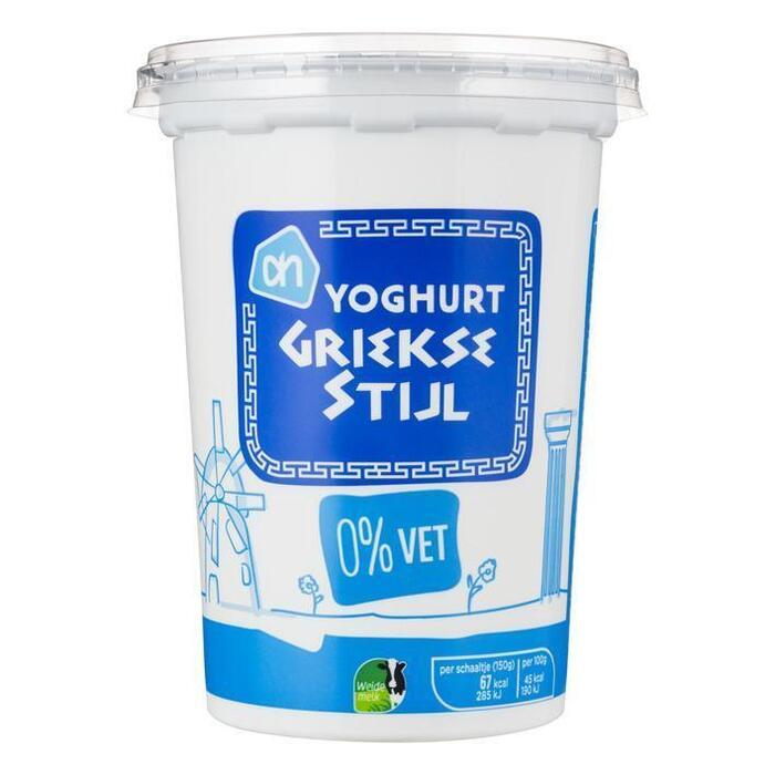 Yoghurt Griekse Stijl (bak, 500g)