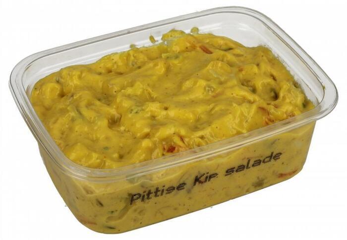 Pittige kip salade (150g)