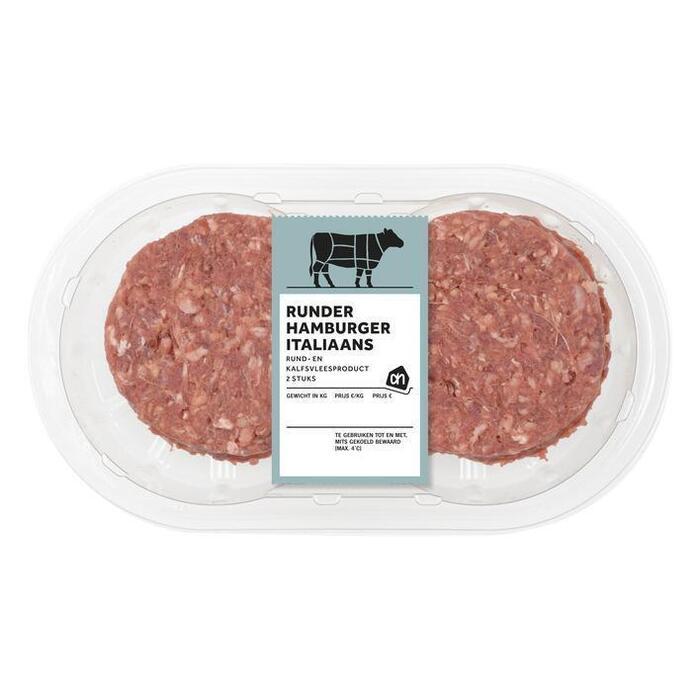 AH Hamburger Italiaans (2 × 200g)