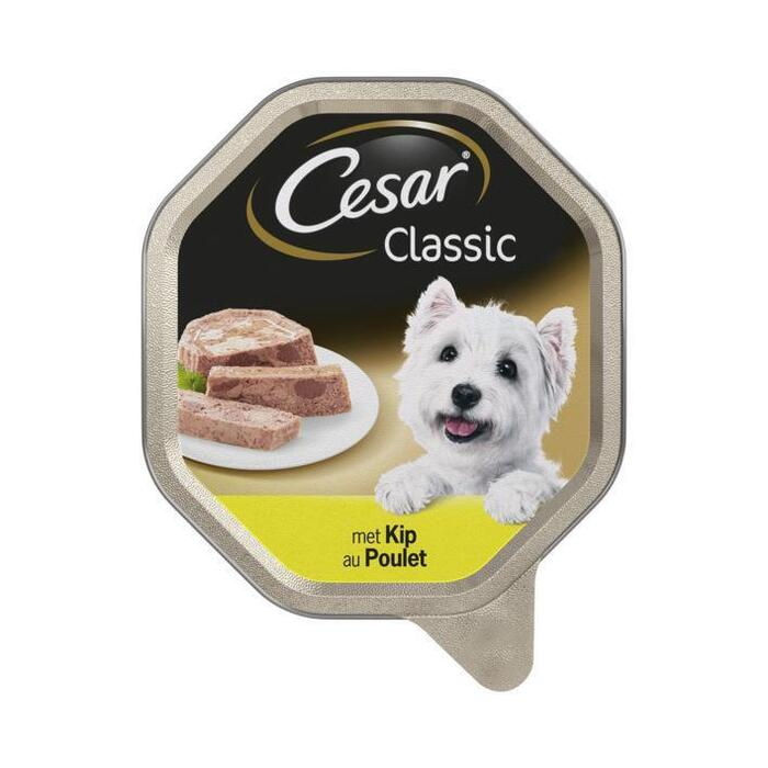 Cesar Classic met kip (kuipje, 150g)