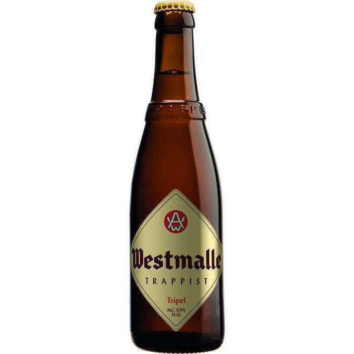 Westmalle Trappist Tripel (rol, 33 × 33cl)