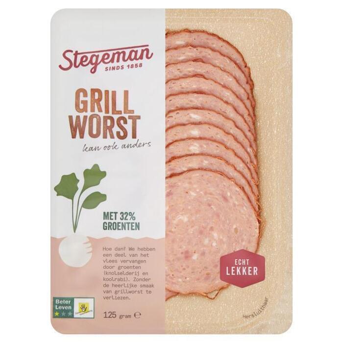 Stegeman Better meat grillworst (125g)