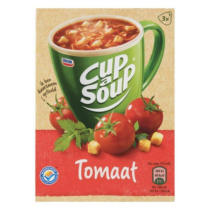 Cup-a-Soup tomatensoep (3 × 175ml)