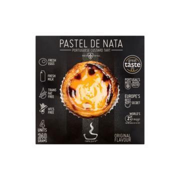 Nata Pura Pastel de Nata Original Flavour 4 Stuks 240 g (240g)