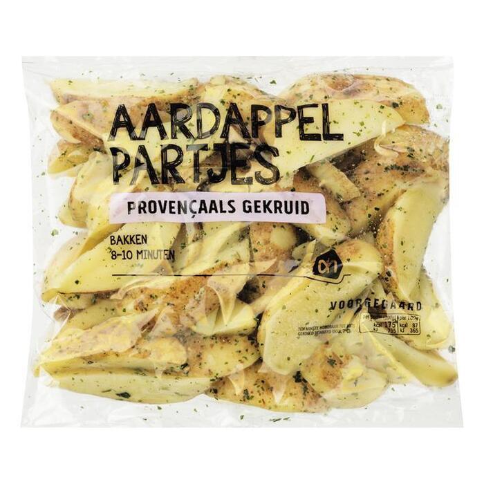 gekruide Provençaalse aardappelpartjes (bak, 450g)