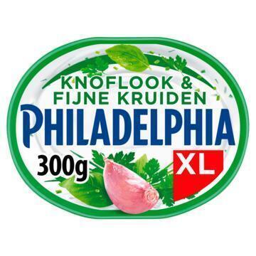 Philadelphia Knoflook & Fijne Kruiden XL 300 g (kuipje, 300g)