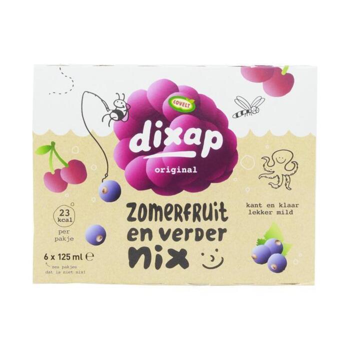Dixap Kant & Klaar Zomerfruit 6 x 125ml (6 × 125ml)