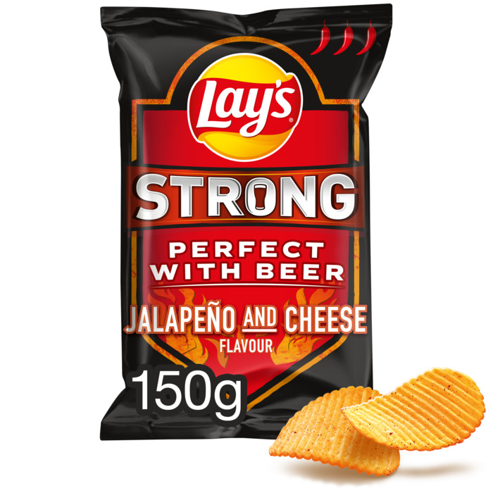 Lay's Strong Jalapeno And Cheese Flavour 150 gr (150g)
