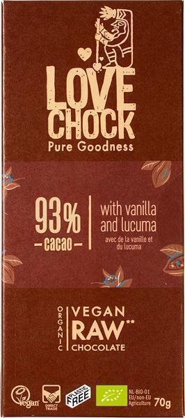 Chocotablet 93% cacao (70g)