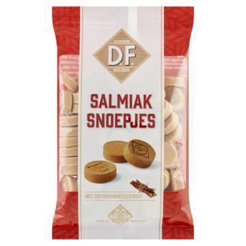 D.F. Salmiak Snoepjes met Zoethoutwortelextract 200 g (200g)