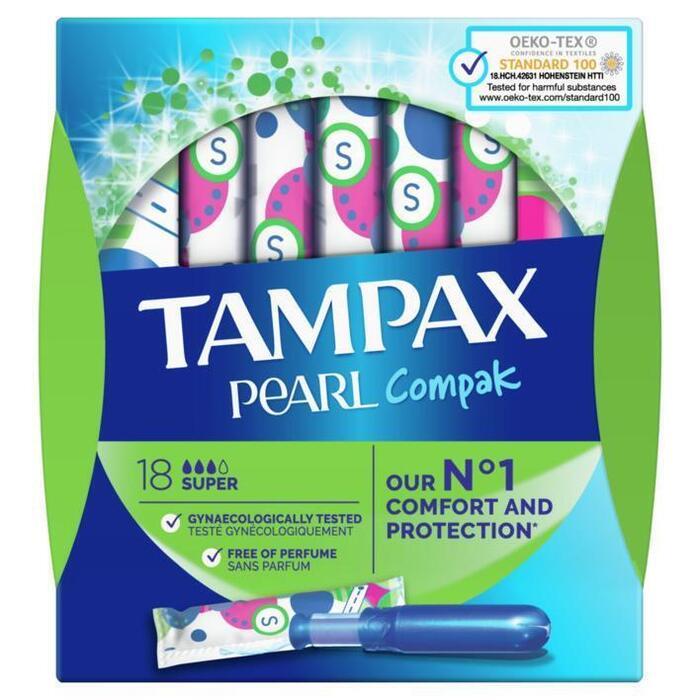 Tampax Tampons compak super