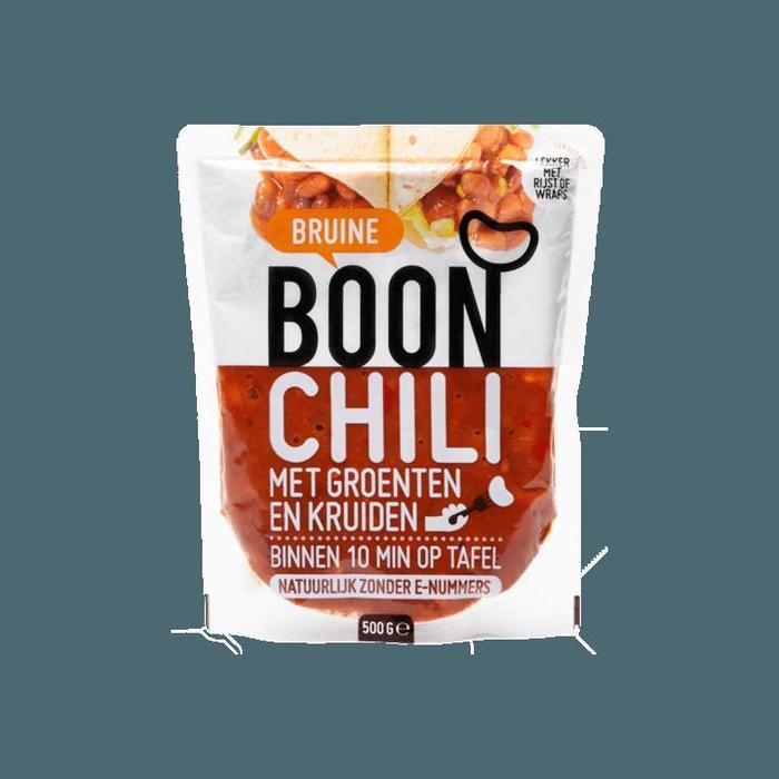 Boon Bruine Boon Chili met Groenten en Kruiden 500g (500g)